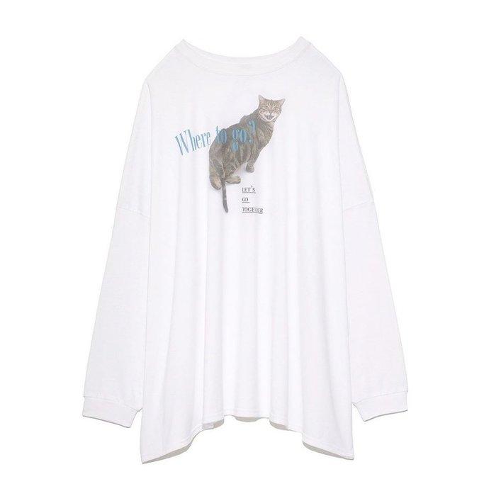 【ファーファー / FURFUR】ファニーな表情を浮かべる猫ちゃんが前後にプリントされたTシャツなど、おすすめ!注目の人気トレンドファッションアイテム 人気、トレンドファッション・服の通販 founy(ファニー) 【ファーファー/FURFUR】 トレンドファッション・スタイル  Fashion Trends ブランド Brand ファッション Fashion レディースファッション WOMEN トップス・カットソー Tops/Tshirt シャツ/ブラウス Shirts/Blouses ロング / Tシャツ T-Shirts カットソー Cut and Sewn ニット Knit Tops アウター Coat Outerwear コート Coats ジャケット Jackets カーディガン Cardigans キャミソール / ノースリーブ No Sleeves カットソー シンプル プリント 猫 長袖 アクセサリー コラボ コンパクト ストーン スペシャル フェミニン フラワー 人気 定番 Standard ジャケット チェック |ID:stp329100000000521