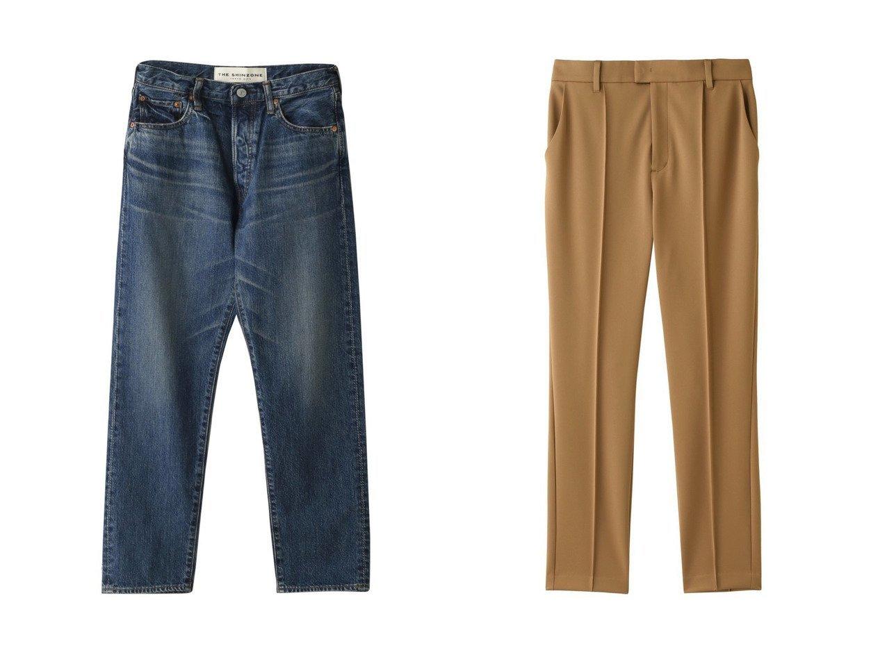 【Shinzone/シンゾーン】のジェネラルジーンズパンツ&【JET/ジェット】の【JET NEWYORK】ストレッチテーパードクロップドパンツ パンツのおすすめ!人気、レディースファッションの通販 おすすめで人気のファッション通販商品 インテリア・家具・キッズファッション・メンズファッション・レディースファッション・服の通販 founy(ファニー) https://founy.com/ ファッション Fashion レディース WOMEN パンツ Pants デニムパンツ Denim Pants ジーンズ テーパード デニム プレーン ベーシック シンプル ストレッチ |ID:crp329100000000052