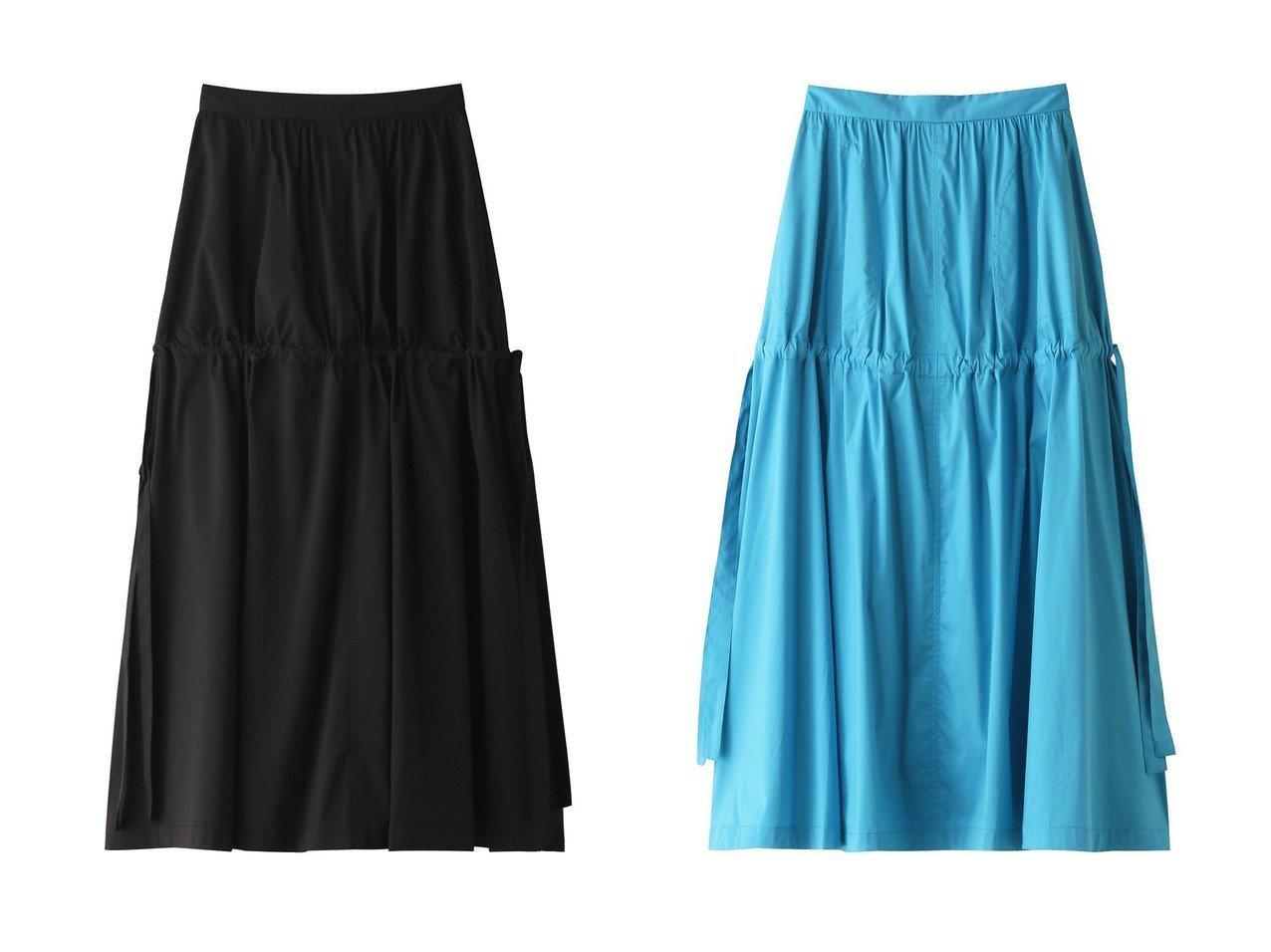 【LE CIEL BLEU/ルシェル ブルー】のコットンツイルマキシスカート スカートのおすすめ!人気、レディースファッションの通販 おすすめで人気のファッション通販商品 インテリア・家具・キッズファッション・メンズファッション・レディースファッション・服の通販 founy(ファニー) https://founy.com/ ファッション Fashion レディース WOMEN スカート Skirt ロングスカート Long Skirt サンダル スニーカー ダウン フラット マキシ リボン ロング 春 |ID:crp329100000000057