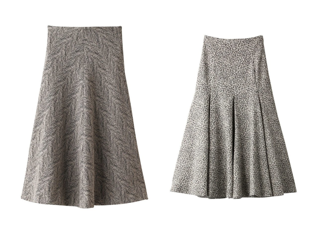 【muller of yoshiokubo/ミュラー オブ ヨシオクボ】のヘリンボーンスカート&【BAUME/ボーム】のツイードマーメイドスカート スカートのおすすめ!人気、レディースファッションの通販 おすすめで人気のファッション通販商品 インテリア・家具・キッズファッション・メンズファッション・レディースファッション・服の通販 founy(ファニー) https://founy.com/ ファッション Fashion レディース WOMEN スカート Skirt ロングスカート Long Skirt ジャケット セットアップ フレア ヘリンボーン ロング |ID:crp329100000000064