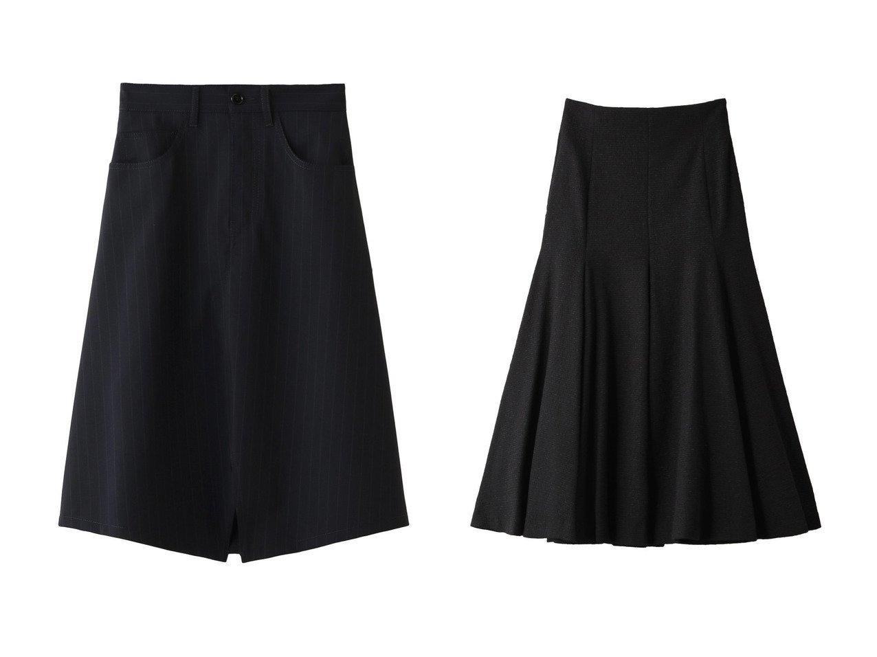 【MM6 Maison Martin Margiela/エムエム6 メゾン マルタン マルジェラ】のピンストライプミックスウールスカート&【BAUME/ボーム】のジャカードマーメイドスカート スカートのおすすめ!人気、レディースファッションの通販 おすすめで人気のファッション通販商品 インテリア・家具・キッズファッション・メンズファッション・レディースファッション・服の通販 founy(ファニー) https://founy.com/ ファッション Fashion レディース WOMEN スカート Skirt ロングスカート Long Skirt ストライプ スーツ ミックス シンプル マキシ マーメイド ロング |ID:crp329100000000065
