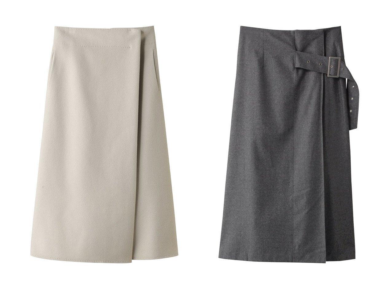 【ebure/エブール】のスーパー120 sダブルビーバー ラップライクスカート&【RITO/リト】のライトフランネルウールスカート スカートのおすすめ!人気、レディースファッションの通販 おすすめで人気のファッション通販商品 インテリア・家具・キッズファッション・メンズファッション・レディースファッション・服の通販 founy(ファニー) https://founy.com/ ファッション Fashion レディース WOMEN スカート Skirt ロングスカート Long Skirt セットアップ ダブル フロント ロング シンプル ルーズ ヴィンテージ |ID:crp329100000000067