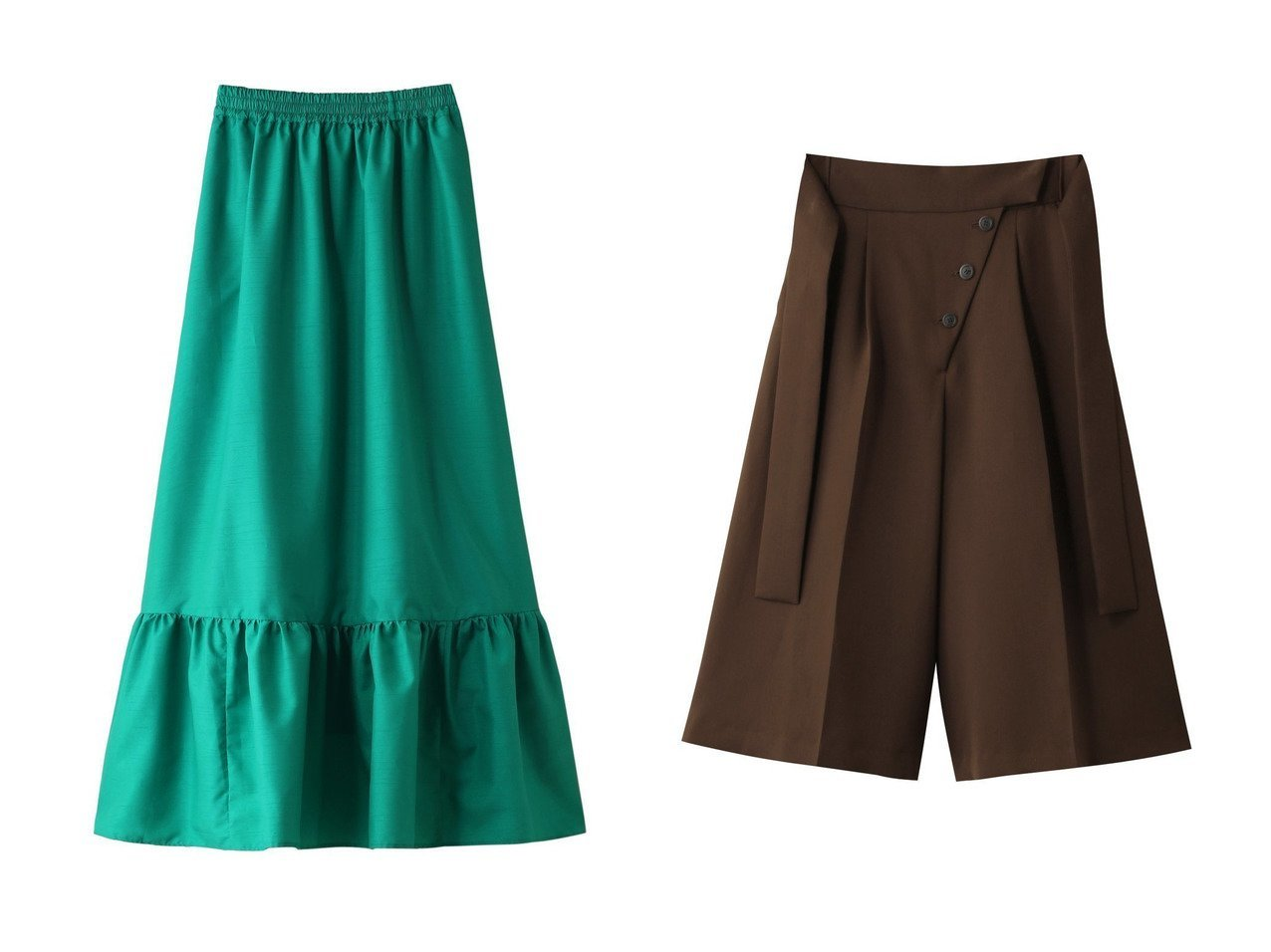 【Shinzone/シンゾーン】のシャンタンフリルスカート&【RITO/リト】のマットサテンキュロット スカートのおすすめ!人気、レディースファッションの通販 おすすめで人気のファッション通販商品 インテリア・家具・キッズファッション・メンズファッション・レディースファッション・服の通販 founy(ファニー) https://founy.com/ ファッション Fashion レディース WOMEN スカート Skirt ロングスカート Long Skirt キュロットスカート Culotte Skirt ガーリー ドレス フリル ロング キュロット サテン センター フロント |ID:crp329100000000070