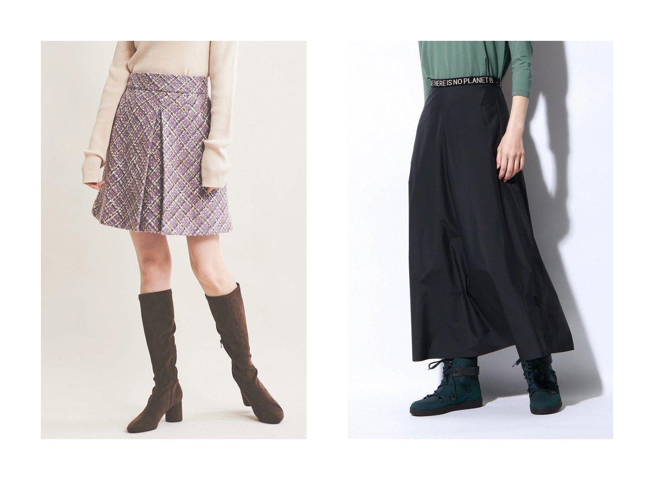 【The Virgnia/ザ ヴァージニア】のボックスタックミニスカート&【ECOALF/エコアルフ】のWALLTER ロング スカート WALLTER LONG SKIRT WOMAN スカートのおすすめ!人気、レディースファッションの通販 おすすめで人気のファッション通販商品 インテリア・家具・キッズファッション・メンズファッション・レディースファッション・服の通販 founy(ファニー) https://founy.com/ ファッション Fashion レディース WOMEN スカート Skirt ミニスカート Mini Skirts ロングスカート Long Skirt ウォーム ツイード トレンド ミニスカート ラベンダー ロング 人気 台形 スニーカー |ID:crp329100000000077