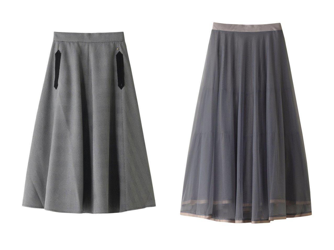 【Ezick/エジック】のチュールロングスカート&グログランPKフレアスカート スカートのおすすめ!人気、レディースファッションの通販  おすすめで人気のファッション通販商品 インテリア・家具・キッズファッション・メンズファッション・レディースファッション・服の通販 founy(ファニー) https://founy.com/ ファッション Fashion レディース WOMEN スカート Skirt Aライン/フレアスカート Flared A-Line Skirts ロングスカート Long Skirt グログラン タートルネック フレア ポケット ロング |ID:crp329100000000085