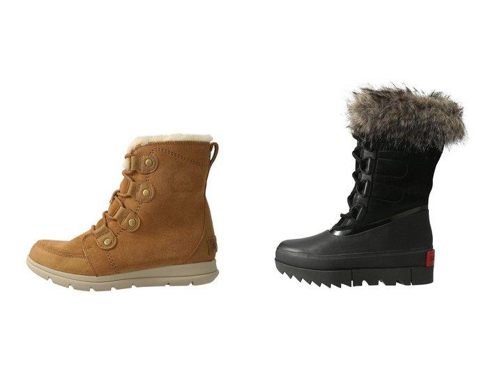 【SOREL/ソレル】のソレルエクスプローラージョアン スノーブーツ&ジョアンオブアークティックネクスト ロングブーツ/スノーブーツ シューズ・靴のおすすめ!人気、レディースファッションの通販  おすすめファッション通販アイテム インテリア・キッズ・メンズ・レディースファッション・服の通販 founy(ファニー) https://founy.com/ ファッション Fashion レディース WOMEN ショート ラバー ロング 人気 定番 軽量 アウトドア ミドル |ID:crp329100000000092