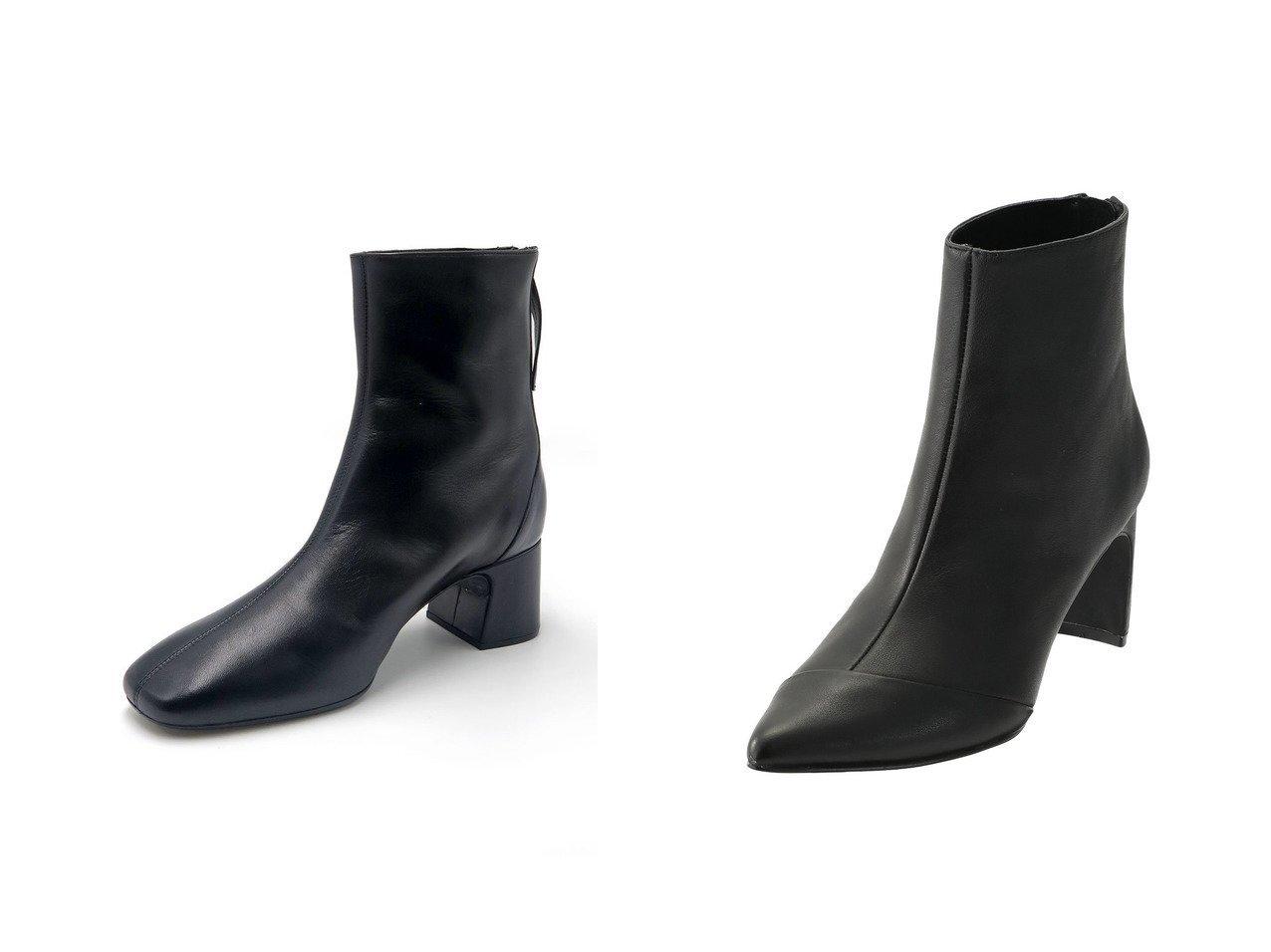 【Esmeralda/エスメラルダ】の【UNISA】バックジップスクエアトゥブーツ&【RIM.ARK/リムアーク】のブーツ シューズ・靴のおすすめ!人気、レディースファッションの通販  おすすめで人気のファッション通販商品 インテリア・家具・キッズファッション・メンズファッション・レディースファッション・服の通販 founy(ファニー) https://founy.com/ ファッション Fashion レディース WOMEN アシンメトリー ショート シンプル |ID:crp329100000000093