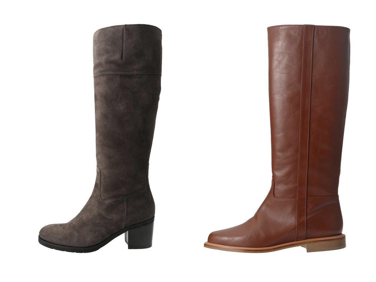 【NEBULONI E/ネブローニ】のLUKE ロングブーツ&【LucaGrossi/ルカグロッシ】のロングヒールブーツ シューズ・靴のおすすめ!人気、レディースファッションの通販  おすすめで人気のファッション通販商品 インテリア・家具・キッズファッション・メンズファッション・レディースファッション・服の通販 founy(ファニー) https://founy.com/ ファッション Fashion レディース WOMEN アーモンドトゥ サイドジップ シンプル ロング |ID:crp329100000000096