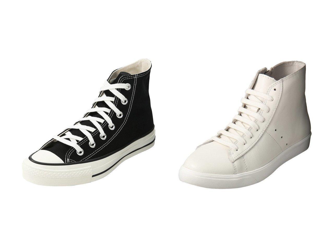 【Esmeralda/エスメラルダ】の【mio notis】ハイカットスニーカー&【1er Arrondissement/プルミエ アロンディスモン】の【CONVERSE】ALL STAR CANVAS HI シューズ・靴のおすすめ!人気、レディースファッションの通販  おすすめで人気のファッション通販商品 インテリア・家具・キッズファッション・メンズファッション・レディースファッション・服の通販 founy(ファニー) https://founy.com/ ファッション Fashion レディース WOMEN スニーカー フェミニン ベーシック 人気 定番 サイドジップ シンプル パイソン |ID:crp329100000000102
