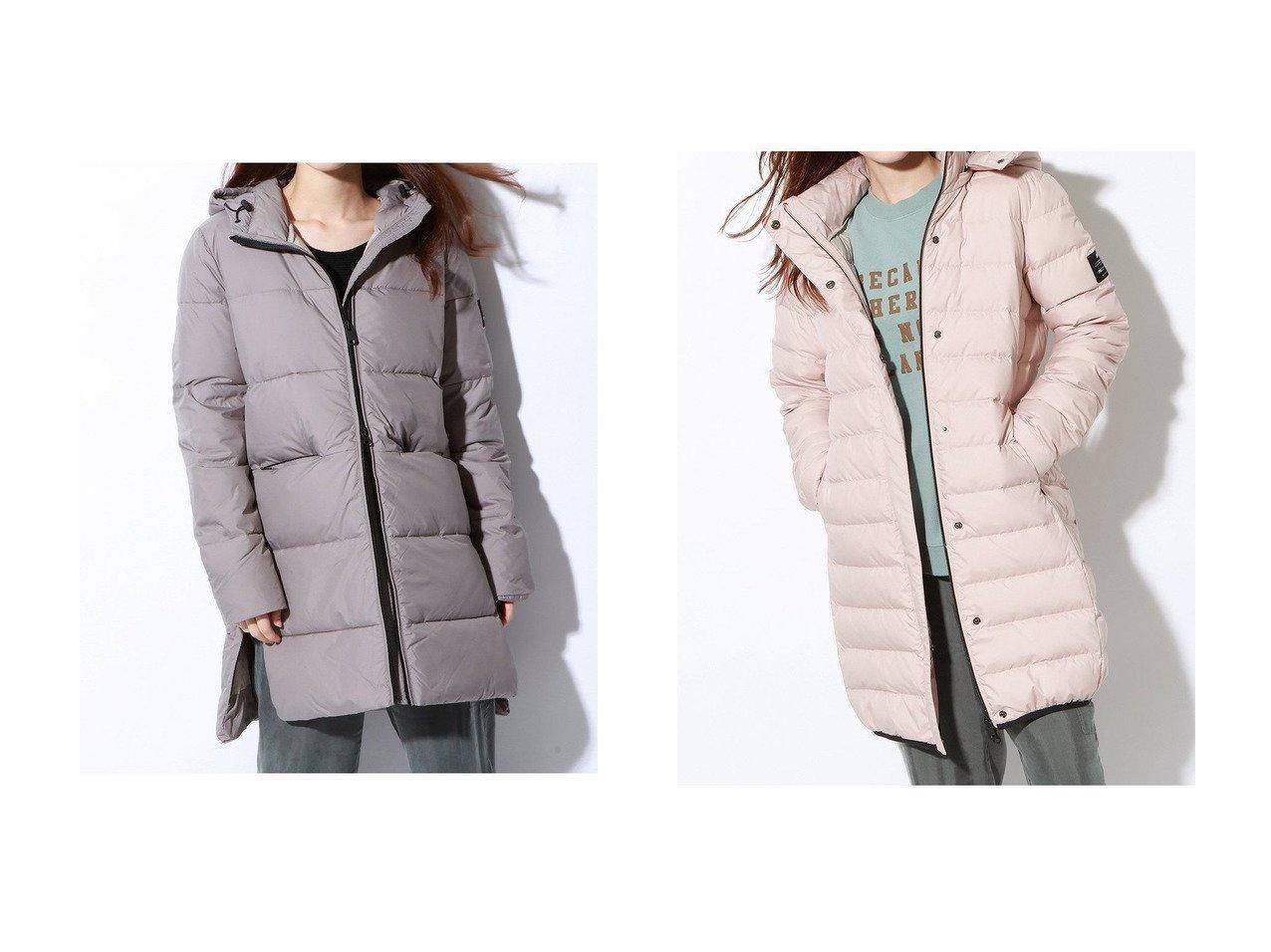 【ECOALF/エコアルフ】のUMA スリム ダウンコート UMA COAT WOMAN&MARANGU ダウンコート MARANGU COAT WOMAN アウターのおすすめ!人気、レディースファッションの通販  おすすめで人気のファッション通販商品 インテリア・家具・キッズファッション・メンズファッション・レディースファッション・服の通販 founy(ファニー) https://founy.com/ ファッション Fashion レディース WOMEN アウター Coat Outerwear コート Coats ダウン Down Coats And Jackets イレギュラーヘム サイドジップ ダウン フロント ポケット ミドル  ID:crp329100000000132