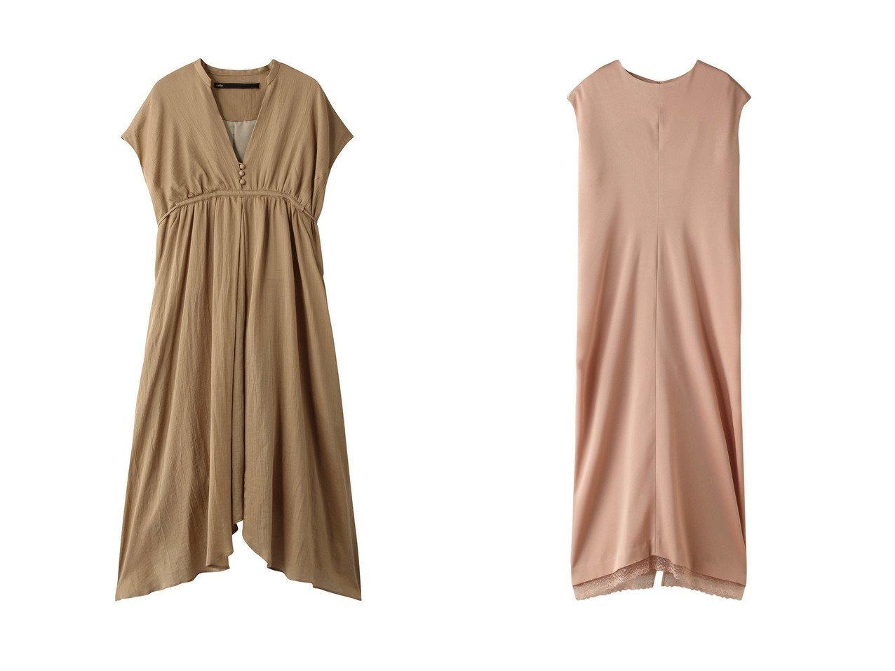 【muller of yoshiokubo/ミュラー オブ ヨシオクボ】のギャザードレス&【BAUME/ボーム】のレーストリムドレス ワンピース・ドレスのおすすめ!人気、レディースファッションの通販  おすすめで人気のファッション通販商品 インテリア・家具・キッズファッション・メンズファッション・レディースファッション・服の通販 founy(ファニー) https://founy.com/ ファッション Fashion レディース WOMEN ワンピース Dress ドレス Party Dresses ギャザー ドレス フェミニン リボン ドレープ パーティ  ID:crp329100000000135