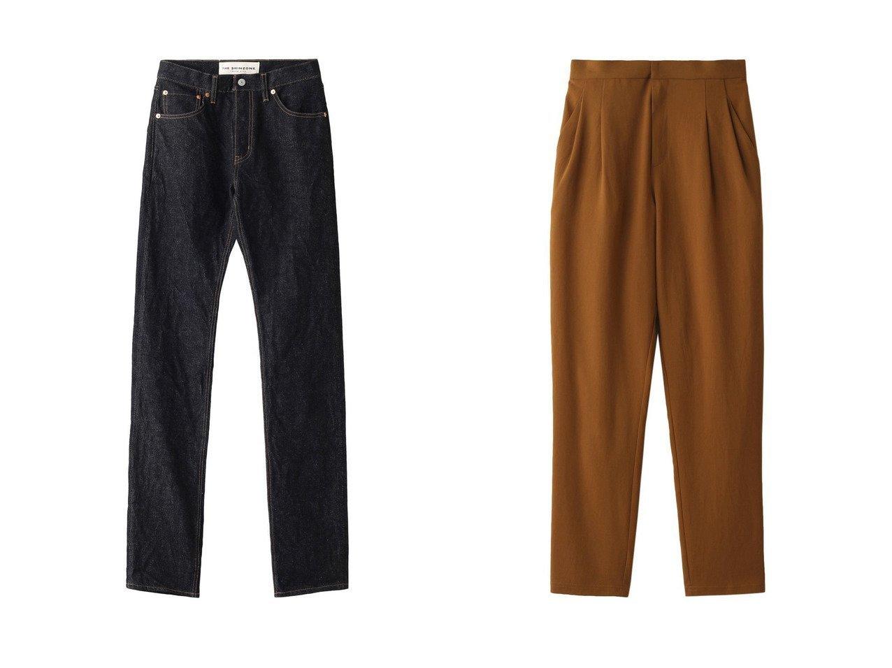 【Shinzone/シンゾーン】のFIRST JEANS デニムパンツ&【GALLARDAGALANTE/ガリャルダガランテ】のジャージージョッパーパンツ パンツのおすすめ!人気、レディースファッションの通販 おすすめで人気のファッション通販商品 インテリア・家具・キッズファッション・メンズファッション・レディースファッション・服の通販 founy(ファニー) https://founy.com/ ファッション Fashion レディース WOMEN パンツ Pants デニムパンツ Denim Pants ストレート デニム バランス 定番 シンプル ジャージー |ID:crp329100000000156
