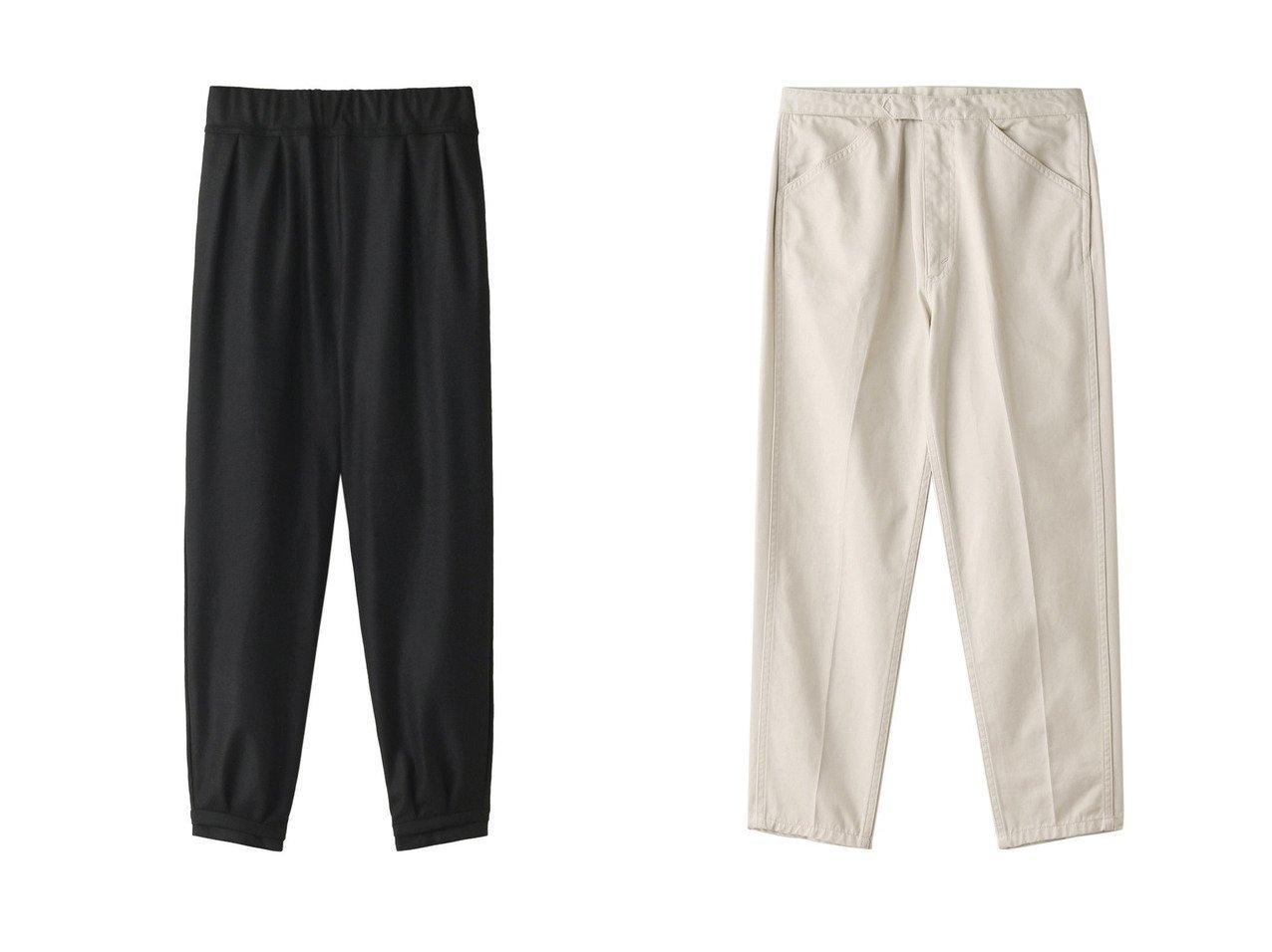 【Shinzone/シンゾーン】のAUTHORITY PANTS ハイウエストコットンテーパードパンツ&【PLAIN PEOPLE/プレインピープル】の【plainless】ウールミルドパンツ パンツのおすすめ!人気、レディースファッションの通販 おすすめで人気のファッション通販商品 インテリア・家具・キッズファッション・メンズファッション・レディースファッション・服の通販 founy(ファニー) https://founy.com/ ファッション Fashion レディース WOMEN パンツ Pants シンプル  ID:crp329100000000175