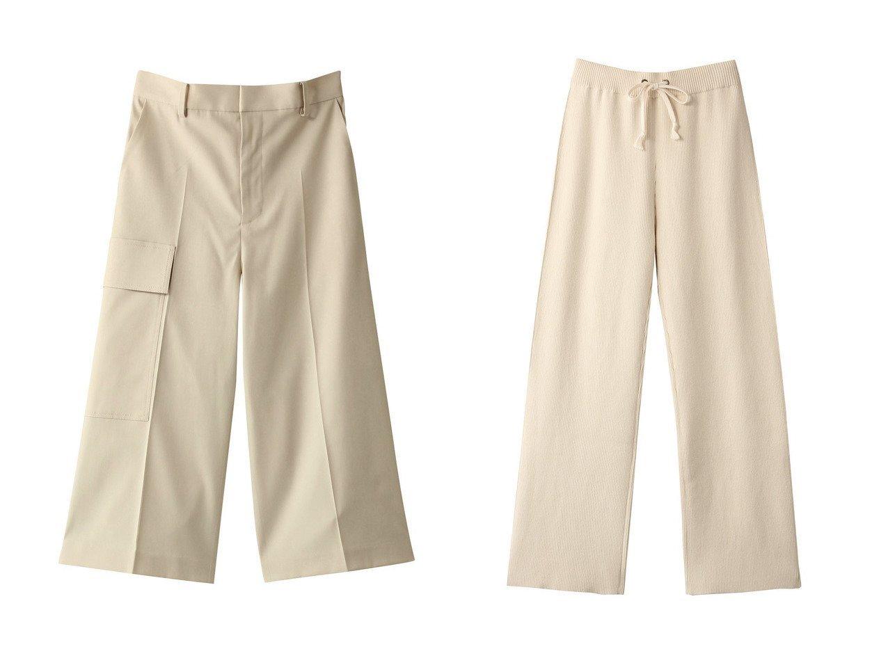 【Shinzone/シンゾーン】のコットンカシミヤニットパンツ&【LE CIEL BLEU/ルシェル ブルー】のユーティリティショーツ パンツのおすすめ!人気、レディースファッションの通販 おすすめで人気のファッション通販商品 インテリア・家具・キッズファッション・メンズファッション・レディースファッション・服の通販 founy(ファニー) https://founy.com/ ファッション Fashion レディース WOMEN パンツ Pants ハーフ / ショートパンツ Short Pants ショーツ ショート センター ポケット 人気 今季  ID:crp329100000000189