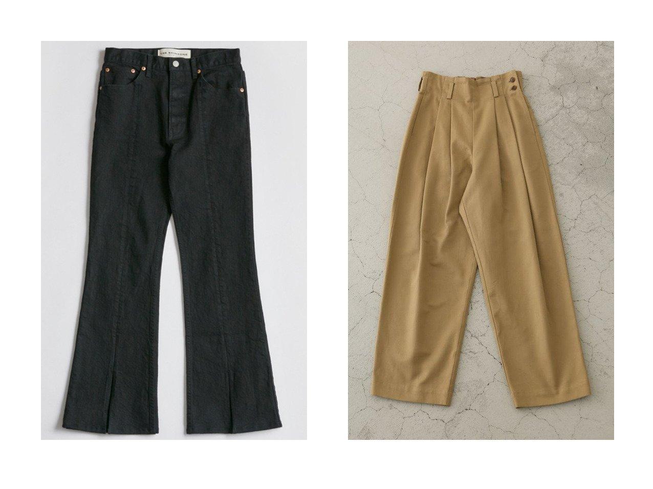 【Shinzone/シンゾーン】のスリットジーンズ&【RIM.ARK/リムアーク】のRelax high-パンツ パンツのおすすめ!人気、レディースファッションの通販 おすすめで人気のファッション通販商品 インテリア・家具・キッズファッション・メンズファッション・レディースファッション・服の通販 founy(ファニー) https://founy.com/ ファッション Fashion レディース WOMEN パンツ Pants ジーンズ ストレッチ スニーカー スリット デニム フレア フロント ショート スタイリッシュ |ID:crp329100000000190