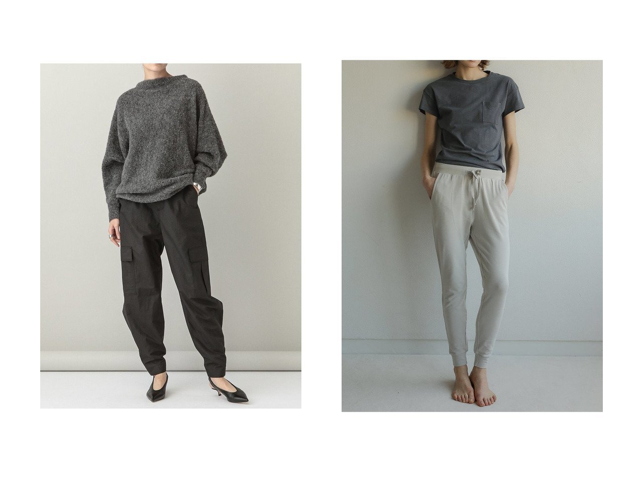 【Curensology/カレンソロジー】のライトカーゴパンツ&【Sacre/サク レ】の【One mile】パンツ パンツのおすすめ!人気、レディースファッションの通販 おすすめで人気のファッション通販商品 インテリア・家具・キッズファッション・メンズファッション・レディースファッション・服の通販 founy(ファニー) https://founy.com/ ファッション Fashion レディース WOMEN パンツ Pants カーゴパンツ スリム ルーズ 人気 |ID:crp329100000000197
