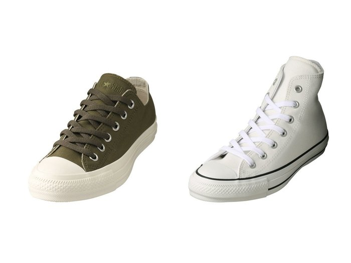 【CONVERSE/コンバース】のオールスターミリタリースリップ OX&【allureville/アルアバイル】の【CONVERSE】ALLSTAR HI シューズ・靴のおすすめ!人気、レディースファッションの通販  おすすめファッション通販アイテム レディースファッション・服の通販 founy(ファニー) ファッション Fashion レディース WOMEN スニーカー レース 定番 秋 |ID:crp329100000000292