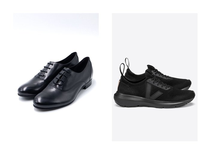 【VEJA/ヴェジャ】の【VEJA×Rick Owens】RUNNER STYLE 2 スニーカー&【LucaGrossi/ルカグロッシ】のレースアップヒールシューズ シューズ・靴のおすすめ!人気、レディースファッションの通販  おすすめファッション通販アイテム レディースファッション・服の通販 founy(ファニー) ファッション Fashion レディース WOMEN なめらか シューズ シンプル フラット スニーカー |ID:crp329100000000298