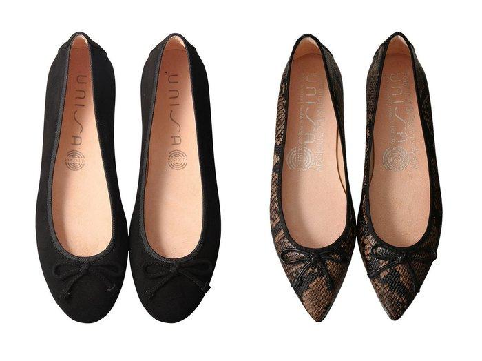 【Esmeralda/エスメラルダ】の【UNISA】ポインテッドバレエシューズ&【UNISA】ラウンドバレエシューズ シューズ・靴のおすすめ!人気、レディースファッションの通販  おすすめファッション通販アイテム インテリア・キッズ・メンズ・レディースファッション・服の通販 founy(ファニー) https://founy.com/ ファッション Fashion レディース WOMEN シューズ バレエ フェミニン フラット レオパード バランス パイソン リボン  ID:crp329100000000300