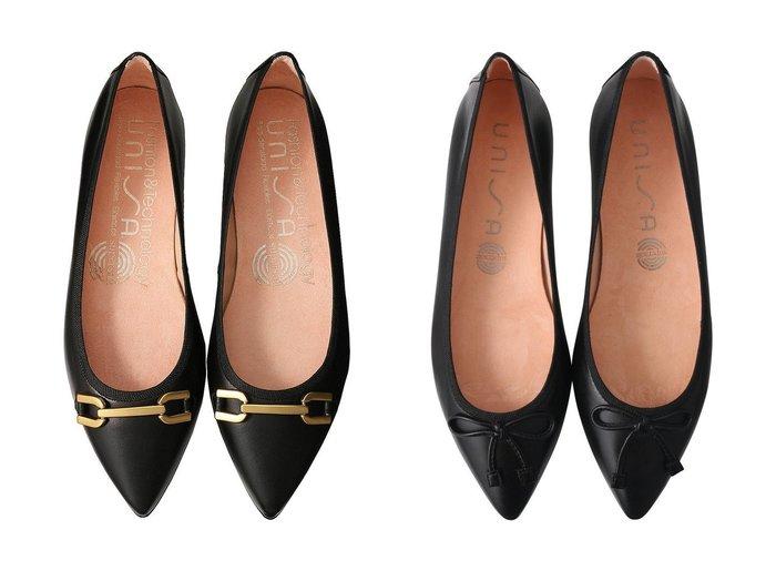 【Esmeralda/エスメラルダ】の【UNISA】ビットポインテッドバレエシューズ&【UNISA】ポインテッドバレエシューズ シューズ・靴のおすすめ!人気、レディースファッションの通販  おすすめファッション通販アイテム インテリア・キッズ・メンズ・レディースファッション・服の通販 founy(ファニー) https://founy.com/ ファッション Fashion レディース WOMEN クラシカル シューズ バレエ フラット 定番 シンプル パイソン ベーシック  ID:crp329100000000310