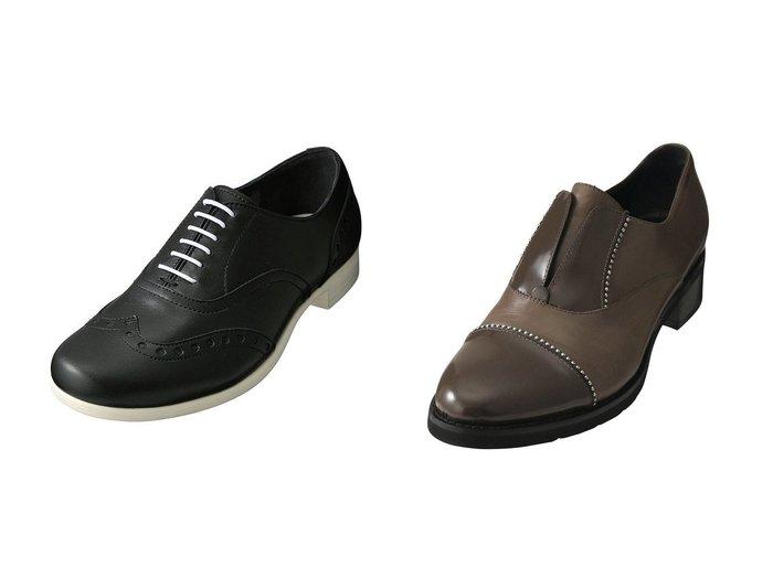 【chausser/ショセ】の【TRAVEL SHOES by chausser】ウイングチップシューズ&【LucaGrossi/ルカグロッシ】のスタッズ付きシューズ シューズ・靴のおすすめ!人気、レディースファッションの通販  おすすめファッション通販アイテム レディースファッション・服の通販 founy(ファニー) ファッション Fashion レディース WOMEN シューズ スタッズ スマート フォルム インソール ウィングチップ スニーカー フラット |ID:crp329100000000311