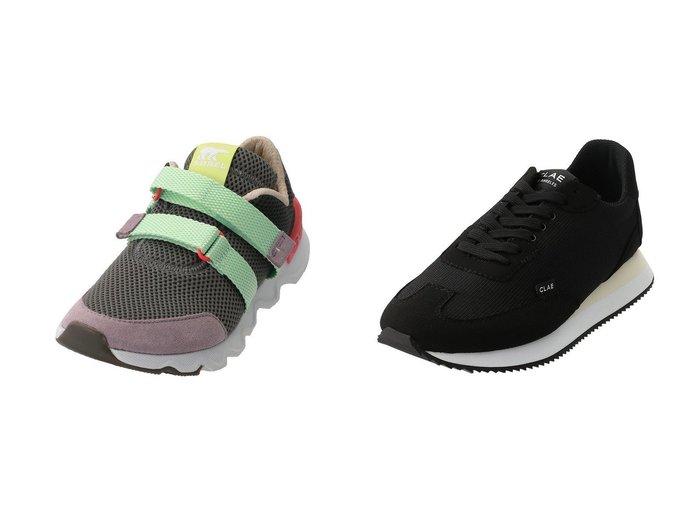 【SOREL/ソレル】のキネティックライトストラップ/スニーカー&【CLAE/クレー】のRUNYON スニーカー シューズ・靴のおすすめ!人気、レディースファッションの通販  おすすめファッション通販アイテム インテリア・キッズ・メンズ・レディースファッション・服の通販 founy(ファニー) https://founy.com/ ファッション Fashion レディース WOMEN インソール スニーカー メッシュ ラバー コレクション ランニング 軽量 |ID:crp329100000000337