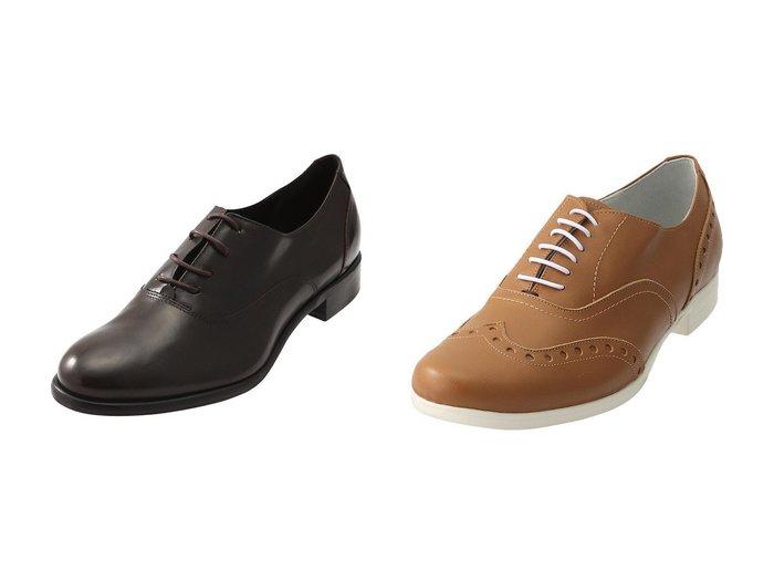 【chausser/ショセ】の【TRAVEL SHOES by chausser】ウイングチップレースアップシューズ(レイン対応)&【LucaGrossi/ルカグロッシ】のレースアップシューズ シューズ・靴のおすすめ!人気、レディースファッションの通販  おすすめファッション通販アイテム インテリア・キッズ・メンズ・レディースファッション・服の通販 founy(ファニー) https://founy.com/ ファッション Fashion レディース WOMEN シューズ シンプル スマート フォルム フラット レイン 軽量 |ID:crp329100000000341
