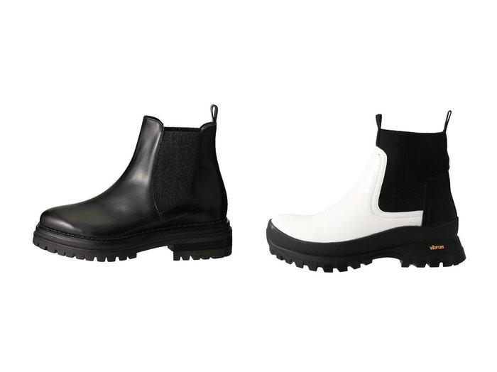 【AULA/アウラ】の【AULA AILA】VIBRAM SOLE BOOTIES&【LucaGrossi/ルカグロッシ】のサイドゴアタンクソールブーツ シューズ・靴のおすすめ!人気、レディースファッションの通販  おすすめファッション通販アイテム レディースファッション・服の通販 founy(ファニー) ファッション Fashion レディース WOMEN トレンド ミドル ガーリー ショート 定番  ID:crp329100000000373