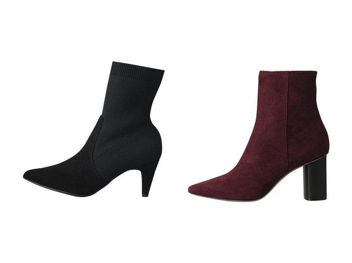 【PELLICO/ペリーコ】の【ELLE SHOP限定】バイカラーヒールスエードショートブーツ&【Esmeralda/エスメラルダ】の【UNISA】ポインテッドニットヒールブーツ シューズ・靴のおすすめ!人気、レディースファッションの通販  おすすめファッション通販アイテム インテリア・キッズ・メンズ・レディースファッション・服の通販 founy(ファニー) https://founy.com/ ファッション Fashion レディース WOMEN ショート ソックス ドッキング ミュール なめらか スエード |ID:crp329100000000375