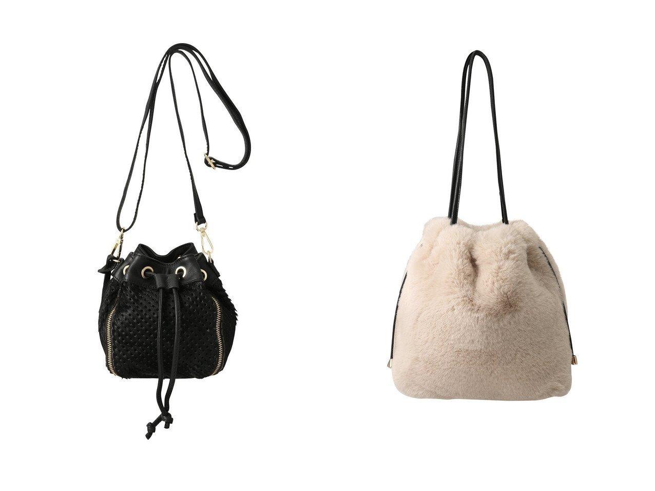 【Faviora Class/ファビオラ クラス】の【Faviora】フェイクファーバック&【1er Arrondissement/プルミエ アロンディスモン】の【BEVINI】ヘアカーフ2WAYショルダーバッグ バッグのおすすめ!人気、レディースファッションの通販  おすすめで人気のファッション通販商品 インテリア・家具・キッズファッション・メンズファッション・レディースファッション・服の通販 founy(ファニー) https://founy.com/ ファッション Fashion レディース WOMEN バッグ Bag コンパクト ジップ ドット バケツ 巾着 シェイプ ハンドバッグ モコモコ |ID:crp329100000000421