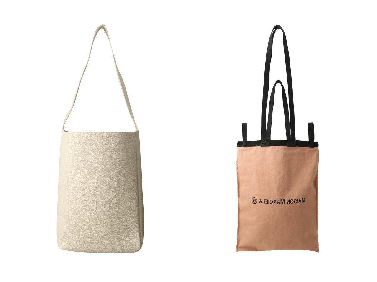 【MM6 Maison Martin Margiela/エムエム6 メゾン マルタン マルジェラ】のロゴキャンバスバッグ/L&【Aeta/アエタ】のショルダーバッグ S バッグのおすすめ!人気、レディースファッションの通販  おすすめで人気のファッション通販商品 インテリア・家具・キッズファッション・メンズファッション・レディースファッション・服の通販 founy(ファニー) https://founy.com/ ファッション Fashion レディース WOMEN シンプル キャンバス ビッグ フォルム |ID:crp329100000000429