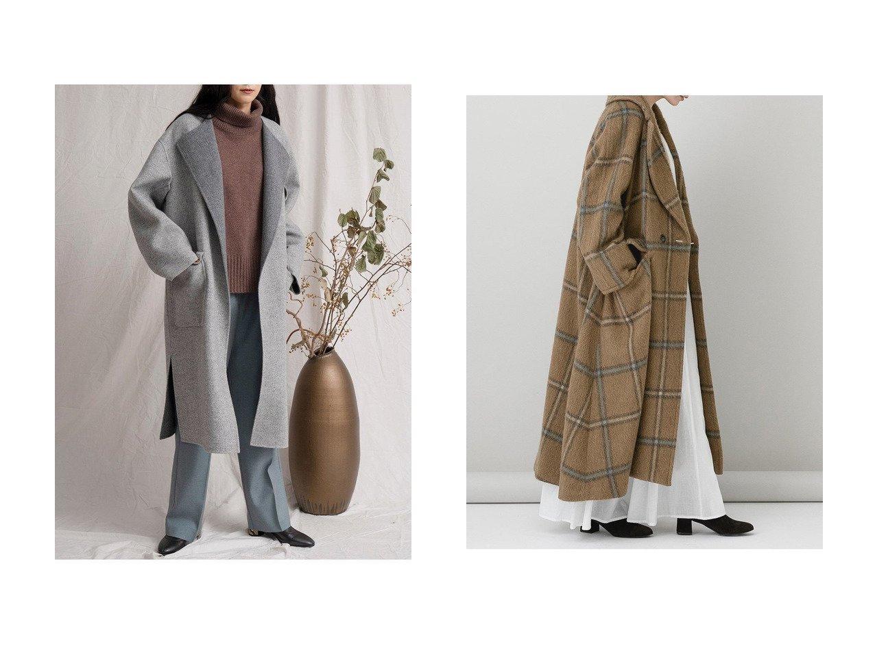 【Curensology/カレンソロジー】のシャギーロングコート&【MAISON SPECIAL/メゾンスペシャル】のWEB限定 スリーブアウトコート アウターのおすすめ!人気、レディースファッションの通販  おすすめで人気のファッション通販商品 インテリア・家具・キッズファッション・メンズファッション・レディースファッション・服の通販 founy(ファニー) https://founy.com/ ファッション Fashion レディース WOMEN アウター Coat Outerwear コート Coats インナー スリット ミュール リラックス ロング  ID:crp329100000000463