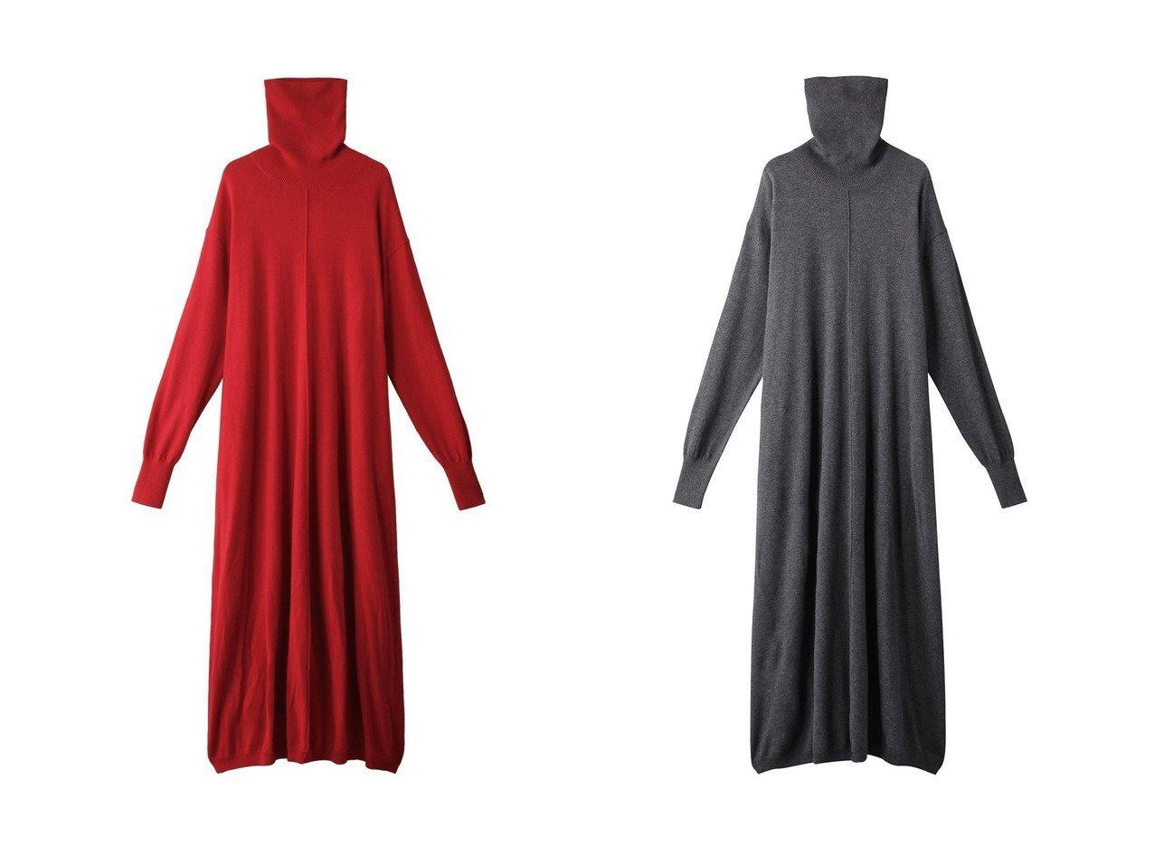 【Shinzone/シンゾーン】のハイネックロングドレス ワンピース・ドレスのおすすめ!人気、レディースファッションの通販  おすすめで人気のファッション通販商品 インテリア・家具・キッズファッション・メンズファッション・レディースファッション・服の通販 founy(ファニー) https://founy.com/ ファッション Fashion レディース WOMEN ワンピース Dress ドレス Party Dresses シンプル ジャケット センター ドレス バランス リラックス ロング ワイド  ID:crp329100000000695