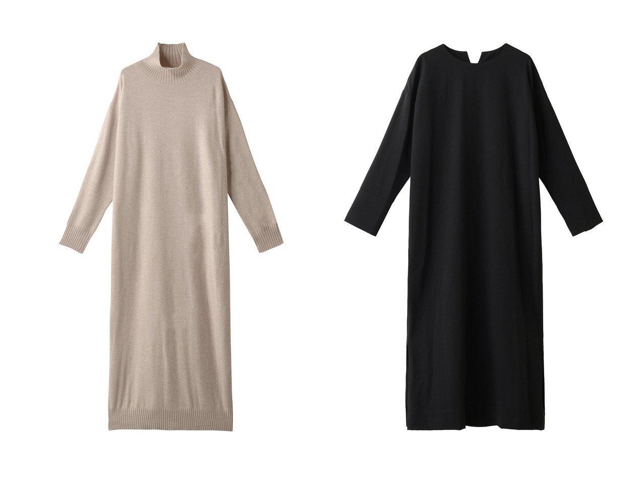 【SACRA/サクラ】のハーフウーステッドワンピース&【PLAIN PEOPLE/プレインピープル】のウールローンワンピース ワンピース・ドレスのおすすめ!人気、レディースファッションの通販  おすすめで人気のファッション通販商品 インテリア・家具・キッズファッション・メンズファッション・レディースファッション・服の通販 founy(ファニー) https://founy.com/ ファッション Fashion レディース WOMEN ワンピース Dress スタイリッシュ スリット ハイネック ロング シューズ シンプル 定番  ID:crp329100000000708