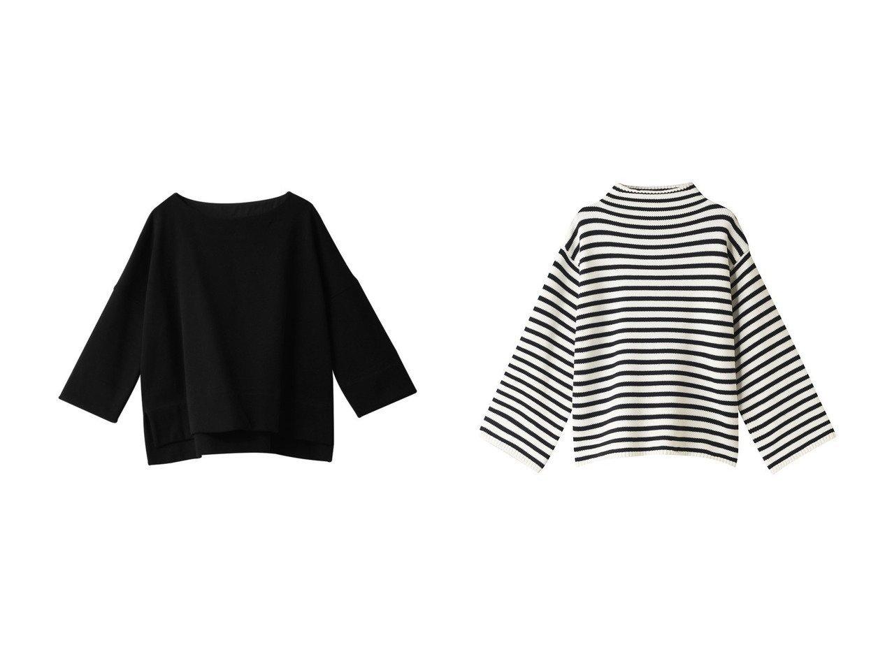 【DEMYLEE/デミーリー】のAgata Stripe セーター&【PLAIN PEOPLE/プレインピープル】のオーガニックソフトスウェットプルオーバー トップス・カットソーのおすすめ!人気、レディースファッションの通販 おすすめで人気のファッション通販商品 インテリア・家具・キッズファッション・メンズファッション・レディースファッション・服の通販 founy(ファニー) https://founy.com/ ファッション Fashion レディース WOMEN トップス Tops Tshirt シャツ/ブラウス Shirts Blouses パーカ Sweats プルオーバー Pullover スウェット Sweat カットソー Cut and Sewn ニット Knit Tops オーガニック リラックス シンプル セーター ハイネック ボーダー |ID:crp329100000000782