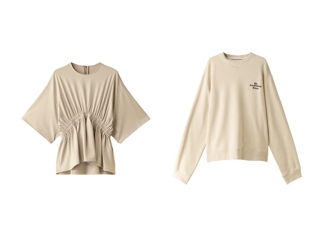 【Shinzone/シンゾーン】のTHE NEW ENGLANDプルオーバー&【RITO/リト】のダブルストレッチジャージーシャーリングブラウス トップス・カットソーのおすすめ!人気、レディースファッションの通販 おすすめで人気のファッション通販商品 インテリア・家具・キッズファッション・メンズファッション・レディースファッション・服の通販 founy(ファニー) https://founy.com/ ファッション Fashion レディース WOMEN トップス Tops Tshirt シャツ/ブラウス Shirts Blouses プルオーバー Pullover カットソー Cut and Sewn ギャザー ショート ジャージ スリーブ セットアップ ベーシック ロング |ID:crp329100000000791