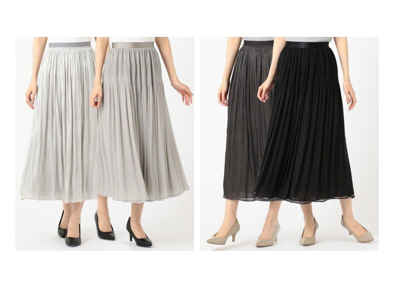 【JIYU-KU/自由区】のMAJOLICA リバーシブル スカート スカートのおすすめ!人気、レディースファッションの通販 おすすめで人気のファッション通販商品 インテリア・家具・キッズファッション・メンズファッション・レディースファッション・服の通販 founy(ファニー) https://founy.com/ ファッション Fashion レディース WOMEN スカート Skirt ギャザー サテン シフォン トレンド ドレープ プリーツ リバーシブル ロング  ID:crp329100000000987