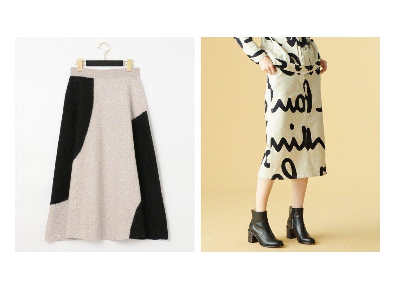 【Paul Smith/ポール・スミス】の【Catwalk Collection AW20】プリンテッド ロゴツイル スカート&【GRACE CONTINENTAL/グレース コンチネンタル】の配色パターン圧縮スカート スカートのおすすめ!人気、レディースファッションの通販 おすすめで人気のファッション通販商品 インテリア・家具・キッズファッション・メンズファッション・レディースファッション・服の通販 founy(ファニー) https://founy.com/ ファッション Fashion レディース WOMEN スカート Skirt クラシック グラフィック コレクション シンプル ジャケット ストレッチ デニム ドット プリント 秋冬 A/W Autumn/ Winter 冬 Winter パターン フェミニン  ID:crp329100000000992