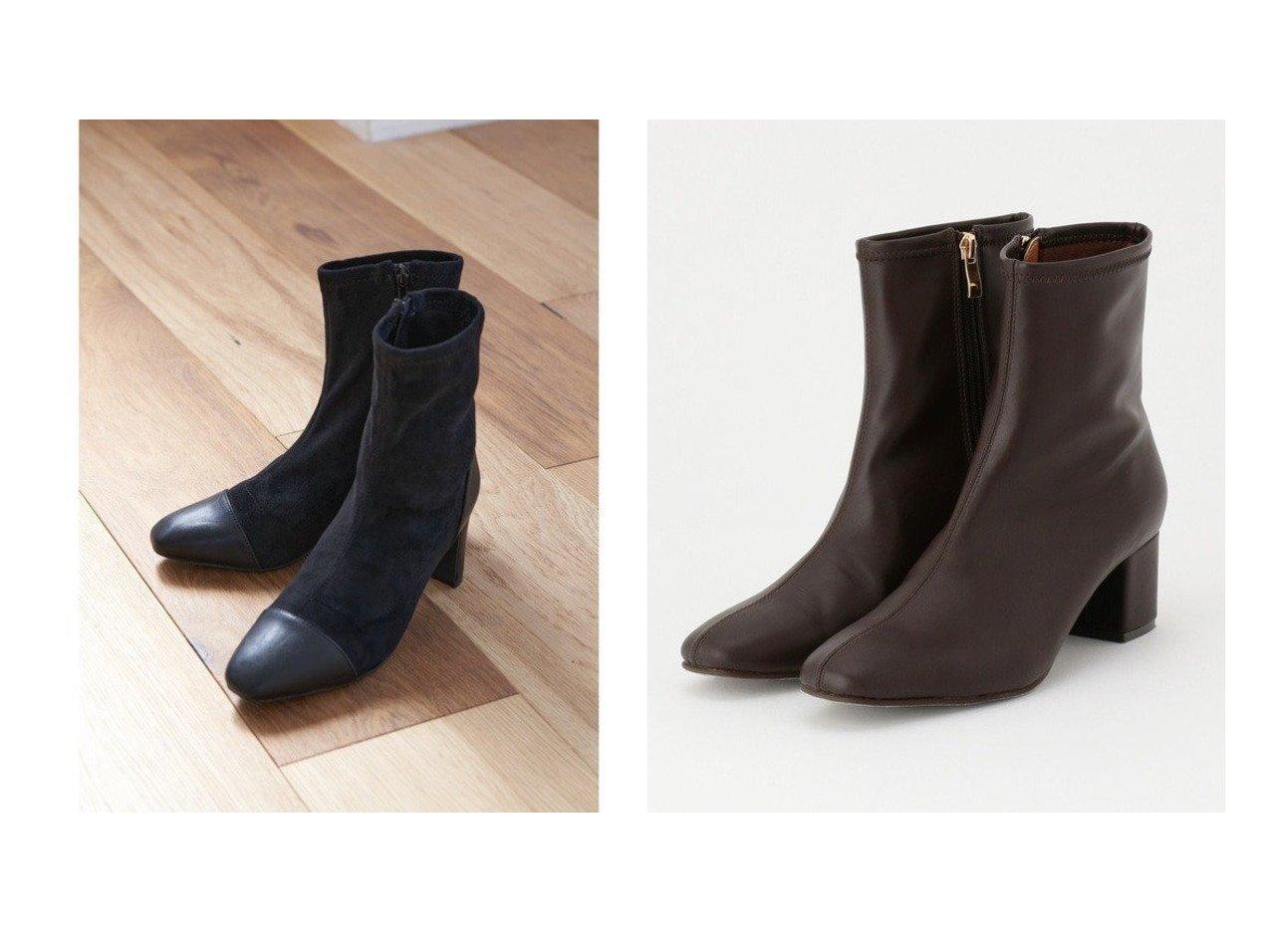 【any FAM/エニィファム】の撥水ストレッチミドル丈 ブーツ&【Green Parks/グリーンパークス】のminia スエードコンビショートブーツ シューズ・靴のおすすめ!人気、レディースファッションの通販 おすすめで人気のファッション通販商品 インテリア・家具・キッズファッション・メンズファッション・レディースファッション・服の通販 founy(ファニー) https://founy.com/ ファッション Fashion レディース WOMEN エレガント コンビ ショート スエード モダン シンプル ストレッチ ミドル ロング 秋冬 A/W Autumn/ Winter |ID:crp329100000000997