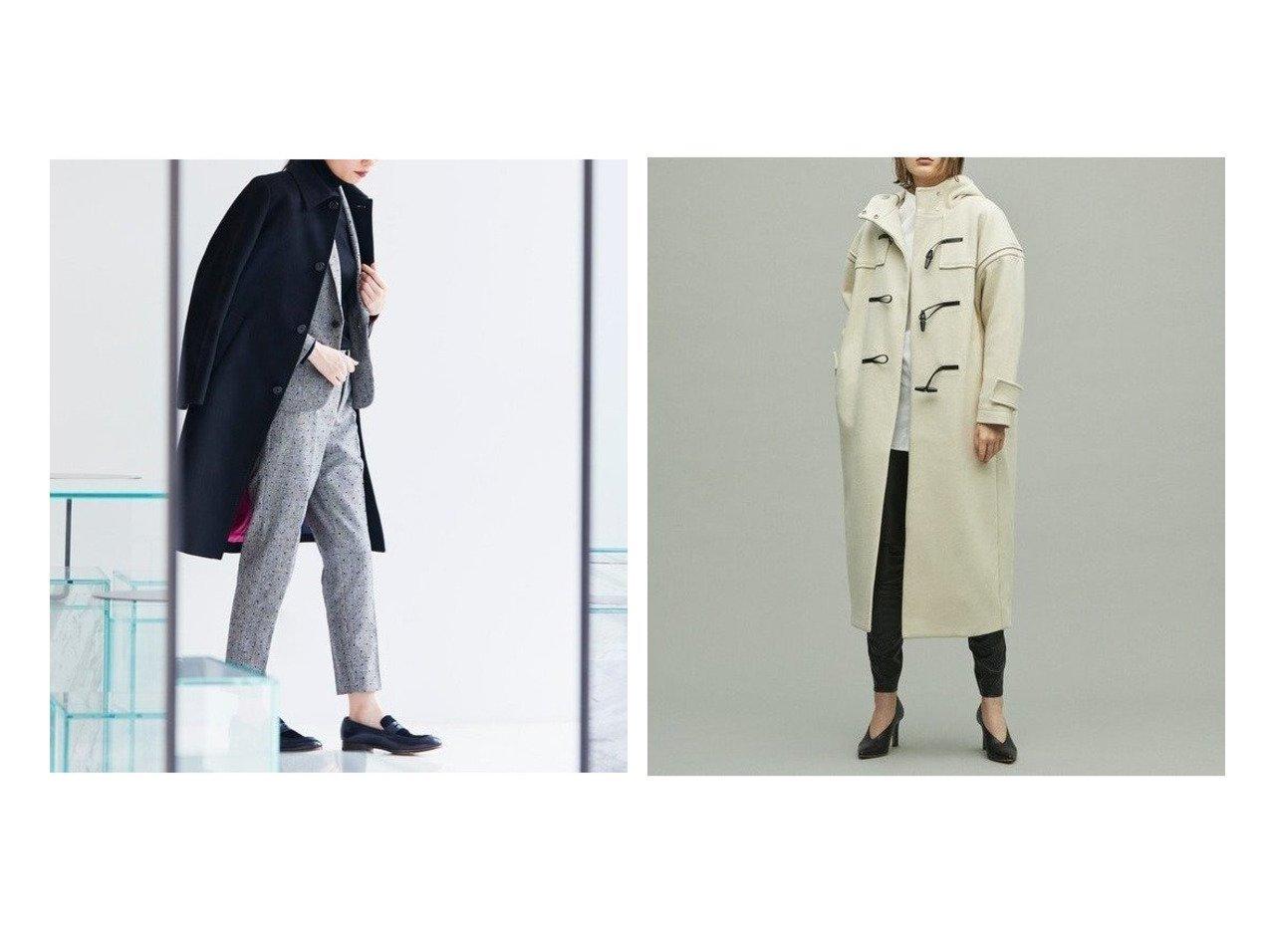 【uncrave/アンクレイヴ】の【Marisol12月号掲載】プルーフメルトン ダッフルコート&【Paul Smith/ポール・スミス】のウールカシミア コート アウターのおすすめ!人気、レディースファッションの通販 おすすめで人気のファッション通販商品 インテリア・家具・キッズファッション・メンズファッション・レディースファッション・服の通販 founy(ファニー) https://founy.com/ 雑誌掲載アイテム Magazine items ファッション雑誌 Fashion magazines マリソル Marisol ノンノ non-no オトナミューズ otona MUSE 男性雑誌 Men's Fashion Magazin ファッションモデル・俳優・女優 Models 女性 Women 竹下玲奈 Takeshita Rena 西野七瀬 Nishino Nanase ファッション Fashion レディース WOMEN アウター Coat Outerwear コート Coats ジャケット Jackets ダッフルコート Duffle Coats カシミア カシミヤ クラシック コレクション シンプル ジャケット スリーブ 定番 プリント モチーフ ライナー 秋冬 A/W Autumn/ Winter ダッフルコート ドット |ID:crp329100000001015