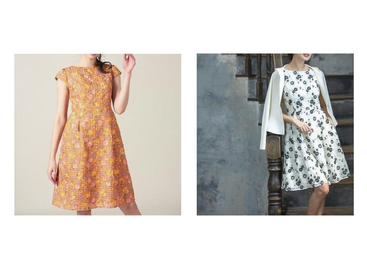 【TOCCA/トッカ】の【洗える!】SPRING BOUQUET ドレス&【洗える!】SIMONE ドレス ワンピース・ドレスのおすすめ!人気、レディースファッションの通販  おすすめで人気のファッション通販商品 インテリア・家具・キッズファッション・メンズファッション・レディースファッション・服の通販 founy(ファニー) https://founy.com/ ファッション Fashion レディース WOMEN ワンピース Dress ドレス Party Dresses スプリング ドレス |ID:crp329100000001037