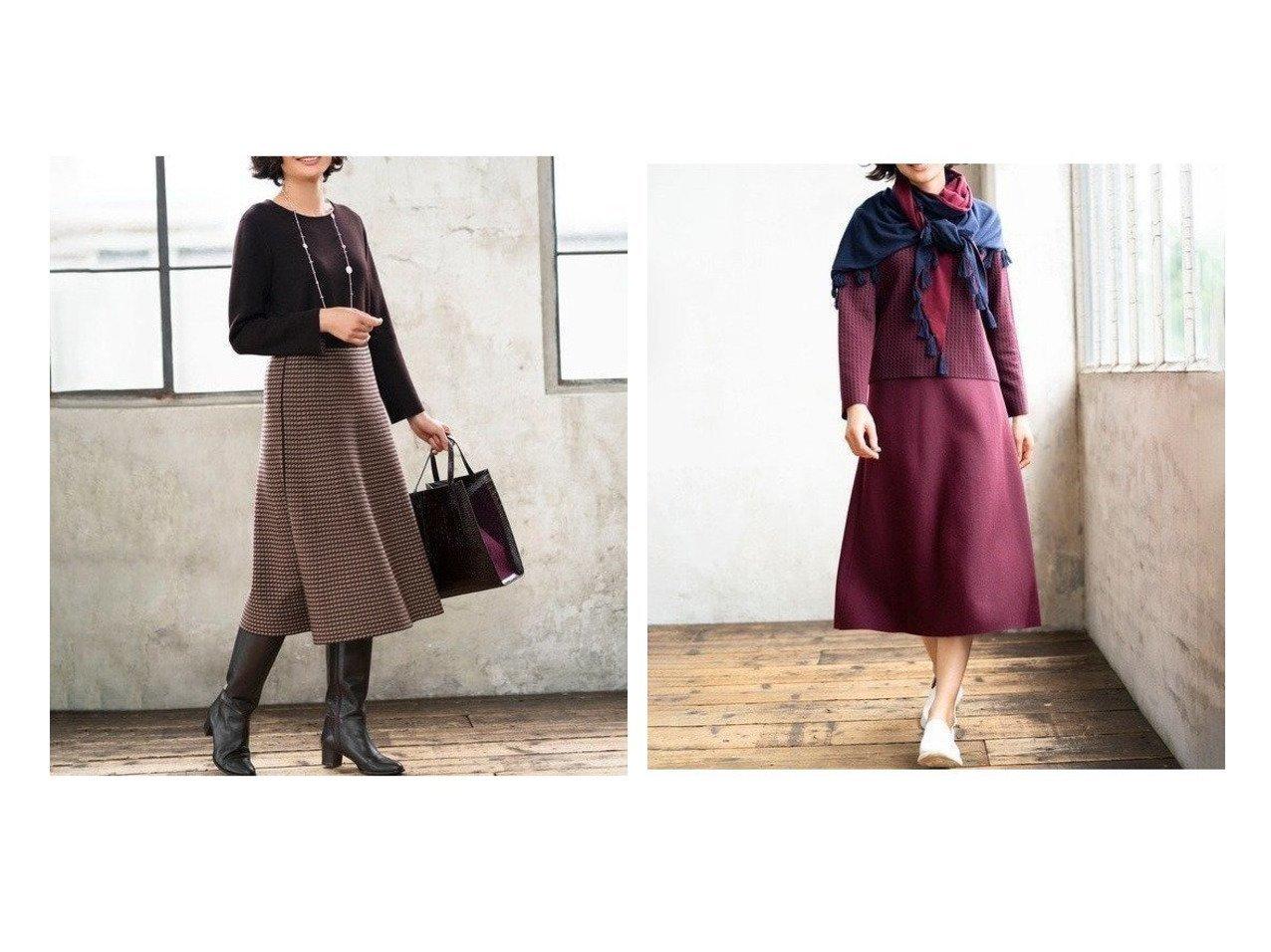 【JIYU-KU/自由区】の【UNFILO】リバーシブル ニット セットアップ(検索番号UL32) ワンピース・ドレスのおすすめ!人気、レディースファッションの通販  おすすめで人気のファッション通販商品 インテリア・家具・キッズファッション・メンズファッション・レディースファッション・服の通販 founy(ファニー) https://founy.com/ ファッション Fashion レディース WOMEN セットアップ Setup クラシカル シンプル セットアップ トレンド フィット フェミニン ボトム 無地 リバーシブル ロング |ID:crp329100000001050
