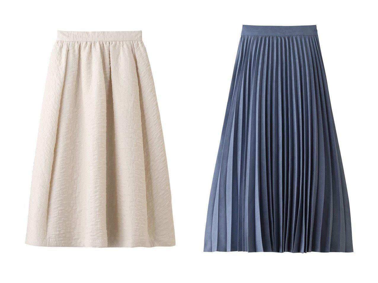 【martinique/マルティニーク】のキルティングフレアスカート&【Ezick/エジック】のスエードマキシプリーツスカート スカートのおすすめ!人気、レディースファッションの通販 おすすめで人気のファッション通販商品 インテリア・家具・キッズファッション・メンズファッション・レディースファッション・服の通販 founy(ファニー) https://founy.com/ ファッション Fashion レディース WOMEN スカート Skirt Aライン/フレアスカート Flared A-Line Skirts ロングスカート Long Skirt プリーツスカート Pleated Skirts エレガント キルティング フレア ロング マキシ 秋冬 A/W Autumn/ Winter |ID:crp329100000001181