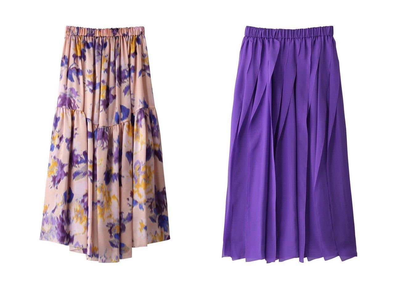 【BLAMINK/ブラミンク】のシルクギャザースカート&シルクプリントギャザースカート スカートのおすすめ!人気、レディースファッションの通販 おすすめで人気のファッション通販商品 インテリア・家具・キッズファッション・メンズファッション・レディースファッション・服の通販 founy(ファニー) https://founy.com/ ファッション Fashion レディース WOMEN スカート Skirt ロングスカート Long Skirt ギャザー シルク プリント ロング |ID:crp329100000001184
