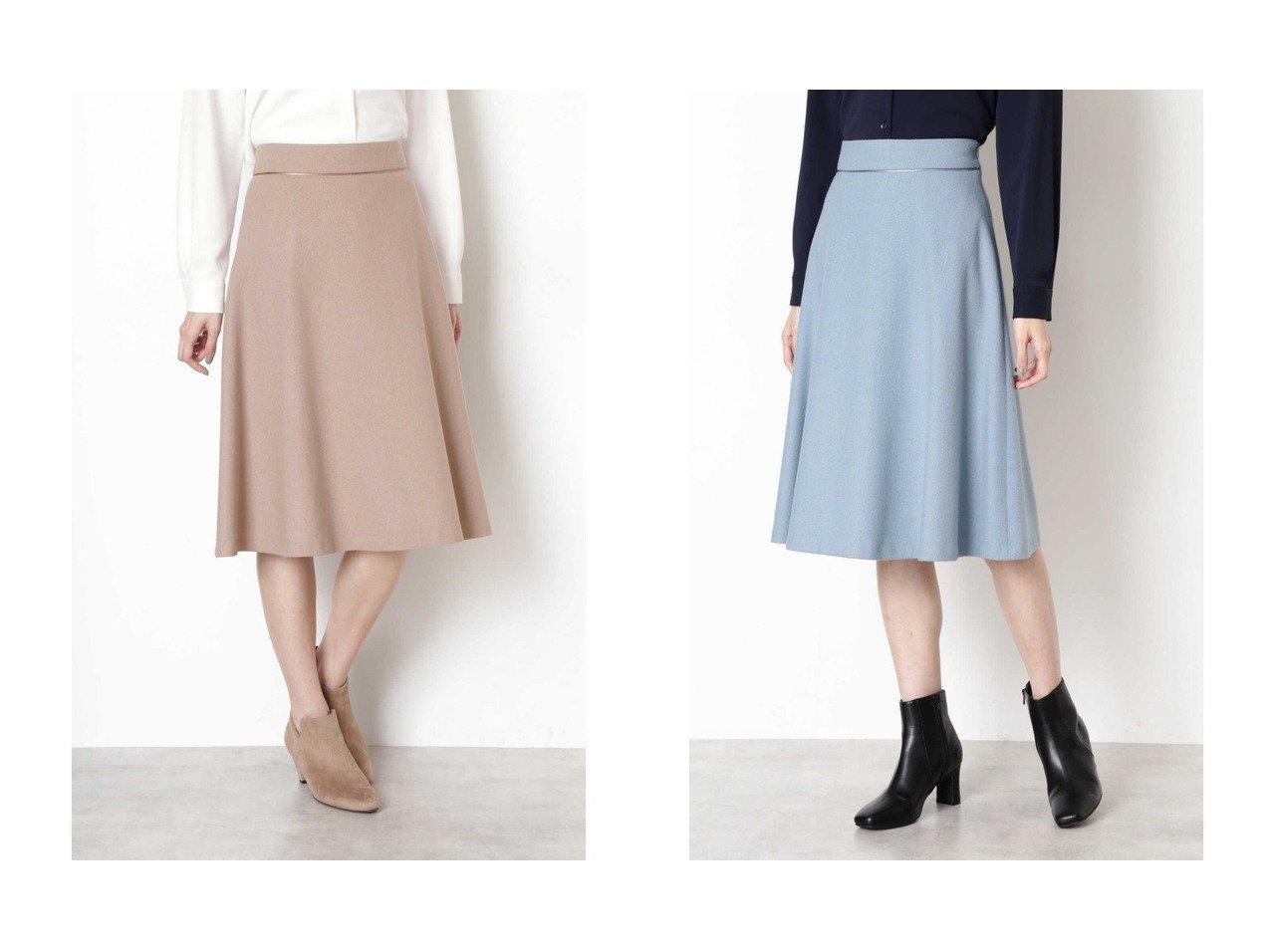 【NATURAL BEAUTY BASIC/ナチュラル ビューティー ベーシック】のフラノフレアスカート スカートのおすすめ!人気、レディースファッションの通販 おすすめで人気のファッション通販商品 インテリア・家具・キッズファッション・メンズファッション・レディースファッション・服の通販 founy(ファニー) https://founy.com/ ファッション Fashion レディース WOMEN スカート Skirt Aライン/フレアスカート Flared A-Line Skirts サテン フレア |ID:crp329100000001189
