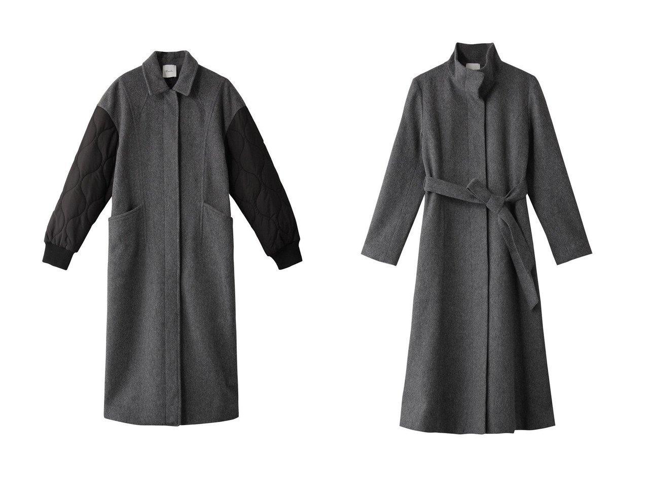 【Ezick/エジック】のスタンドカラーコート&キルティングステンコート アウターのおすすめ!人気、レディースファッションの通販 おすすめで人気のファッション通販商品 インテリア・家具・キッズファッション・メンズファッション・レディースファッション・服の通販 founy(ファニー) https://founy.com/ ファッション Fashion レディース WOMEN アウター Coat Outerwear コート Coats キルティング ロング 軽量 クラシカル クール シェイプ シンプル スタンド ベスト 羽織 |ID:crp329100000001234