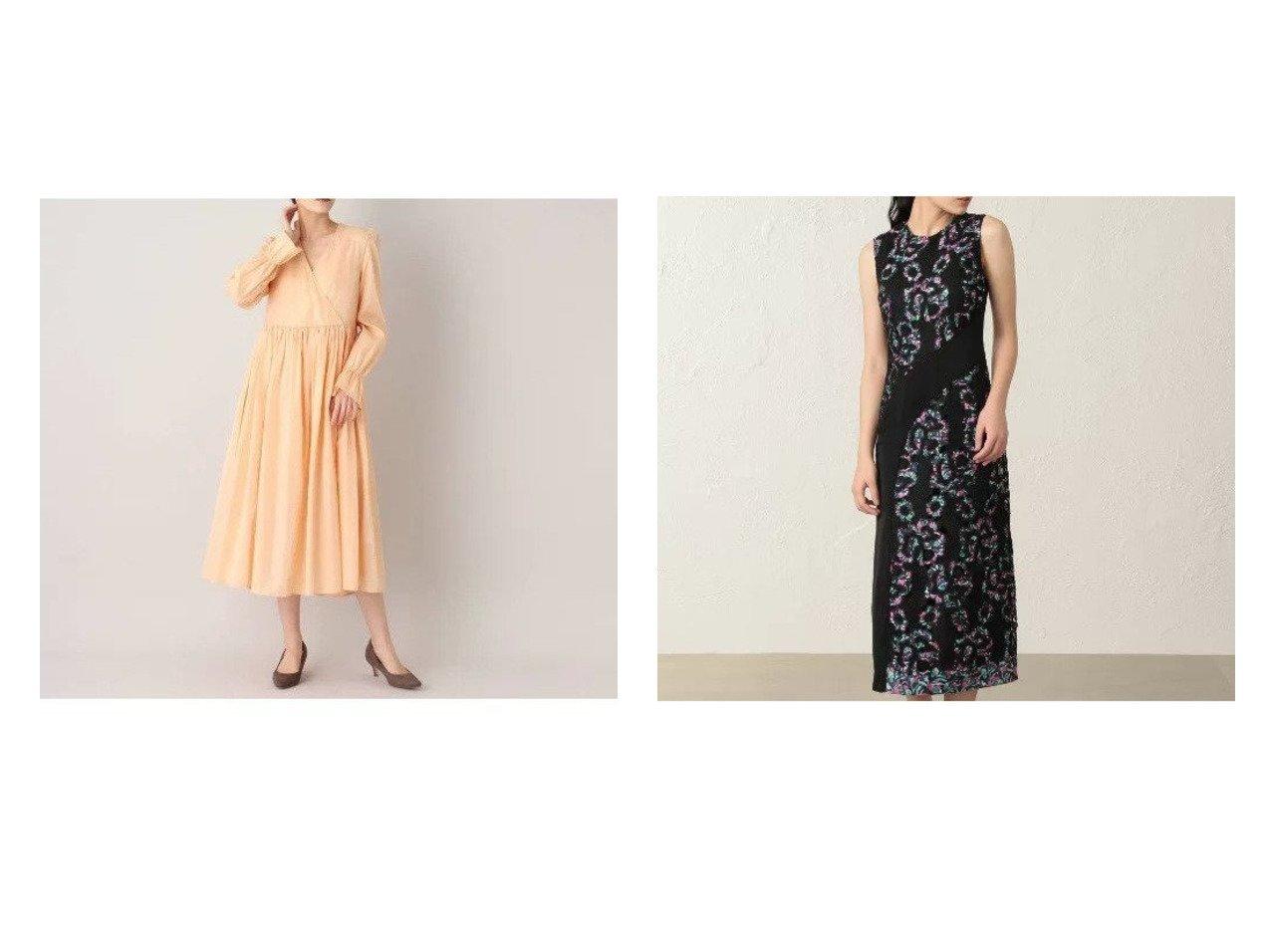 【aquagirl/アクアガール】のBAUM UND PFERDGARTEN カシュクールドレス&【EPOCA THE SHOP/エポカ ザ ショップ】の【Diane von Furstenberg】マルチカラーレースドレス ワンピース・ドレスのおすすめ!人気、レディースファッションの通販 おすすめで人気のファッション通販商品 インテリア・家具・キッズファッション・メンズファッション・レディースファッション・服の通販 founy(ファニー) https://founy.com/ ファッション Fashion レディース WOMEN ワンピース Dress ドレス Party Dresses エレガント カシュクール ギャザー シャイニー ドレス フェイス フォーマル リュクス ロマンティック プリント ラップ レース  ID:crp329100000001353