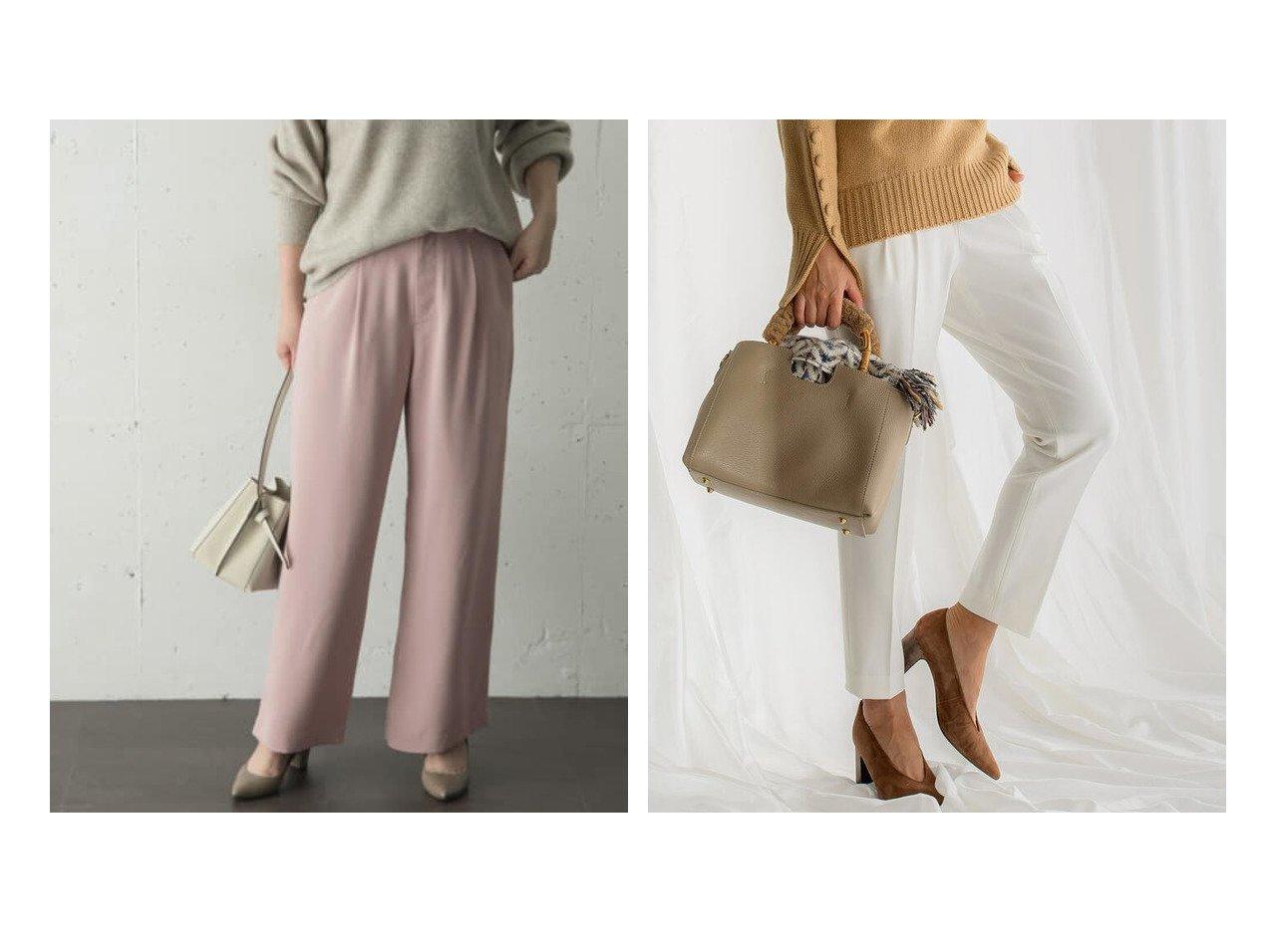 【URBAN RESEARCH ROSSO/アーバンリサーチ ロッソ】のハイウエストワイドパンツ&【Viaggio Blu/ビアッジョブルー】のコスミカルウォームタックパンツ パンツのおすすめ!人気、レディースファッションの通販 おすすめで人気のファッション通販商品 インテリア・家具・キッズファッション・メンズファッション・レディースファッション・服の通販 founy(ファニー) https://founy.com/ ファッション Fashion レディース WOMEN パンツ Pants スカート Skirt とろみ フレア ベーシック ルーズ ワイド 今季 ストレッチ フラット 楽ちん |ID:crp329100000001401