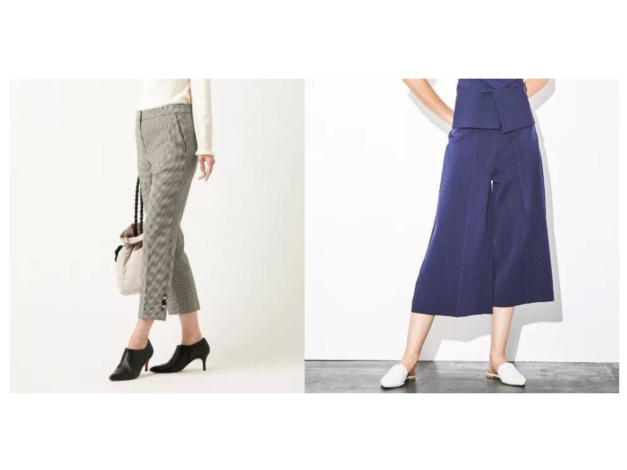 【EPOCA/エポカ】のキュプラベーシック ガウチョパンツ&【TO BE CHIC/トゥー ビー シック】の2WAYストレッチパンツ パンツのおすすめ!人気、レディースファッションの通販 おすすめで人気のファッション通販商品 インテリア・家具・キッズファッション・メンズファッション・レディースファッション・服の通販 founy(ファニー) https://founy.com/ ファッション Fashion レディース WOMEN パンツ Pants ストレッチ ビジュー 定番 カーディガン ガウチョパンツ ドレープ ノースリーブ ボレロ ロング ワイド 冬 Winter 春 秋 長袖  ID:crp329100000001440