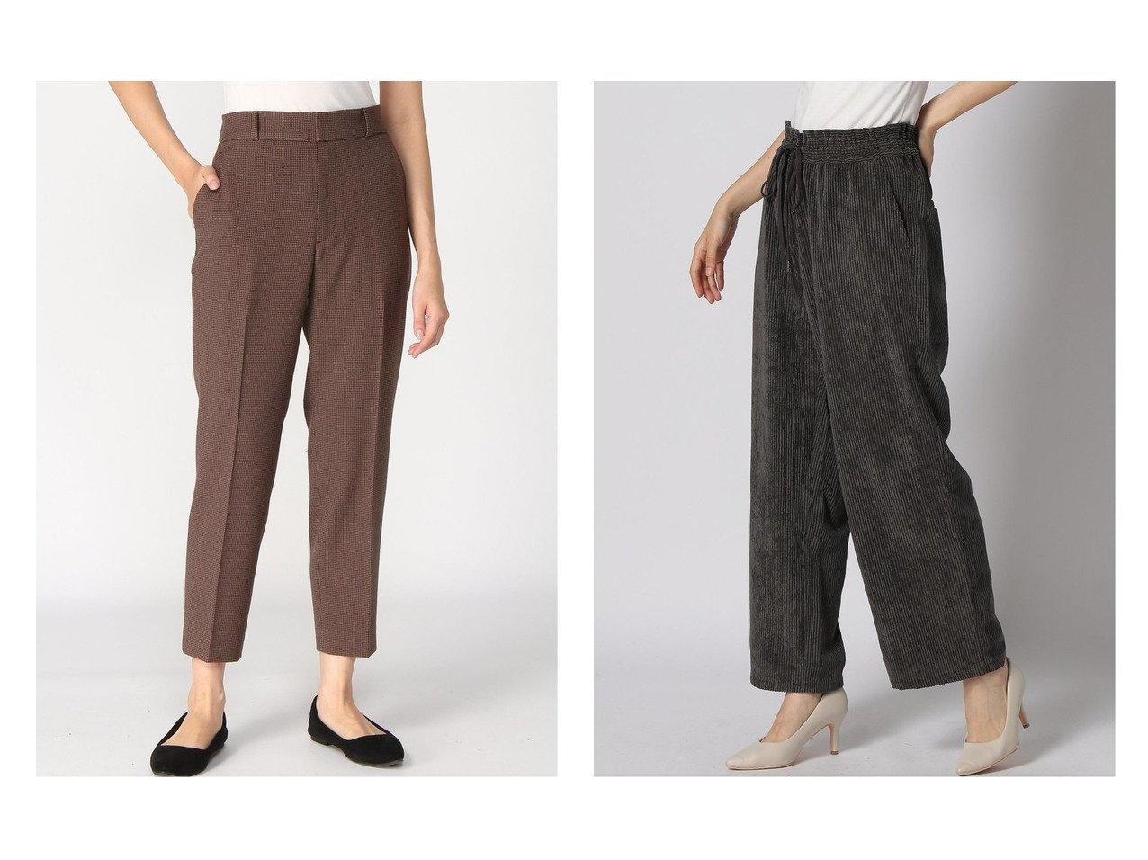 【studio CLIP/スタディオ クリップ】のケアラクコーデュロイPT&【GLOBAL WORK/グローバルワーク】のウールライクスティックPT+D パンツのおすすめ!人気、レディースファッションの通販 おすすめで人気のファッション通販商品 インテリア・家具・キッズファッション・メンズファッション・レディースファッション・服の通販 founy(ファニー) https://founy.com/ ファッション Fashion レディース WOMEN パンツ Pants ギャザー クロップド ジャケット ジーンズ ストレッチ スリム コーデュロイ フリル ワイド  ID:crp329100000001446